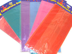 Colored Cellophane Bags